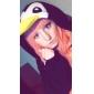 Kigurumi Pyjamas nya Cosplay® / Pingvin Leotard/Onesie Halloween Animal Sovplagg svart Lappverk Polar Fleece Kigurumi UnisexHalloween /