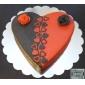 Heart Shaped Cookies Nock Cutter Set av 3 st