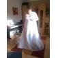 LUBA - Robe de Mariée Organza Satin Dentelle