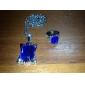 Smycken Inspirerad av Black Butler Ciel Phantomhive Animé Cosplay Accessoarer Halsband / Ring Vit Konstädelstenar Man