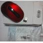 trådlös optisk mus + 2.4GHz USB-mottagare (röd)