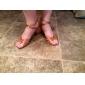 Kvinnors Satin Ankle Stripe Latin Dansskor Sandaler (fler färger)