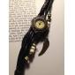 wanbao millésime montre bracelet de tissage des femmes