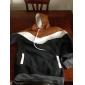 Bărbați Casul/Zilnic Simplu(ă) Regular Hoodies-Mată Albastru / Bej / Maro / Gri Manșon Lung Cu Bretele Bumbac Iarnă Mediu Micro-elastic
