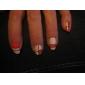 30pcs couleurs mélangées rouleaux ligne de striping tape autocollant nail art décoration