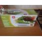 frukt&grönsak trevligare skivare plus slicer cutter chopper hugga potatisskalare kök verktyg