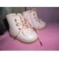 Pantofi fete deget de la picior rotund cizme toc plat glezna cu dantelă-up mai multe culori disponibile