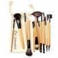 Professionella Makeup Borstar Set 18 st Makeup borstar & Verktyg med dragsko väska