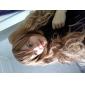 Perruques de lolita Doux Lolita Long Bouclé Marron Perruque Lolita  70 CM Perruques de Cosplay Couleur Pleine Perruque Pour Femme