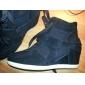 Casual Talon croissante cuir suède de femmes Wedge Fastion Sneakers