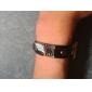 Smycken Inspirerad av Attack on Titan Cosplay Animé Cosplay Accessoarer Armband Svart Legering / PU Läder Man