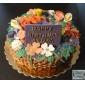Cookie Cutter 3D Frunze forma de decorare tort set mucegai din 4 piese