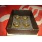 Smycken Inspirerad av One Piece Trafalgar Law Animé Cosplay Accessoarer Örhängen Guld Legering Man