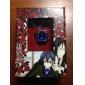 Smycken Inspirerad av Black Butler Ciel Phantomhive Animé Cosplay Accessoarer Ring Guld Konstädelstenar Man