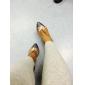 Anpassade Kvinnors Läder Övre Latin Dansskor Sandaler Med Buckie