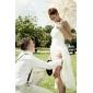 Satin mit bowknot Hochzeit Strumpfbänder