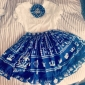 Blus/Skjorta Söt Lolita Prinsessa Cosplay Lolita-klänning Vit Spets Kort ärm Lolita Blus För Dam Chiffong
