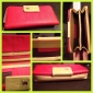 Dam PU Clutch-väska / Plånbok / Kort- och ID-hållare / Börs - Rosa / Blå / Orange / Röd