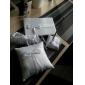 collection de mariage mis en satin blanc avec des rubans (5 pièces)
