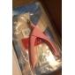 ciseaux à ongles rose pour les bouts d'ongle faux acrylique nail art