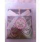 de metal mariposa marcador con borla de seda favor de la boda