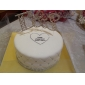 Cake Toppers Romanesque Rhinestone Monogram Cake Topper