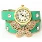 îndrăznesc u moda fluture model împletit ceas reglabil