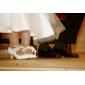 Damen Hochzeitsschuhe Absätze/Mary Jane High Heels Hochzeit Weiß