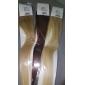 20inch 1st loopar mikro ringar pärlor tippade rakt löshår mer ljus färger 100s / pake 0,5 g / s