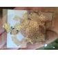 200pcs or royal tranche de métal nail art décoration millésime