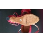 Ursnygg kvinna Leatherette och mousserande Glitter Övre Moderna Skor Dans (Fler färger)
