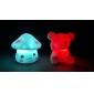 Coway beau modèle de champignon coloré LED lampe de nuit