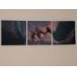 ensemble de 3 modernes romance baiser de toile toiles tendues prêt à accrocher