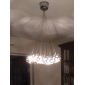 umei ™ 10 watt modern / samtida / klot lampa krom metall hängande ljus