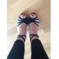 satin / funklende glitter øverste danse sko balsal latinske sko til kvinder