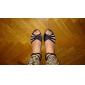 Satin/ Sparkling Glitter Upper Dance Shoes Ballroom Latin Shoes for Women