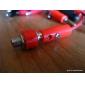 Banana Plug à pince crocodile Probe Test Lead Cable (Red & Black, 100cm, 10 PCS)