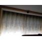 Un Panneau Le traitement de fenêtre Rustique , Feuille Chambre à coucher Polyester Matériel Rideaux Tentures Décoration d'intérieur For