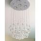 SL® Chandelier Luxury Modern Crystal Bulb Included 4 Lights