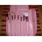 Make-up For You - makeupborstar, 7 st (rosa)