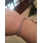 rena kvinnor 925 silverpläterade hög kvalitet handarbete elegant armband