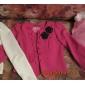Femei Blazer Plus Size,Mată Manșon Lung Primăvară / Toamnă / Iarnă-Roz / Roșu / Alb / Negru Mediu Bumbac / Altele