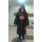 Inspiré par Naruto Akatsuki Anime Costumes de cosplay Costumes Cosplay Imprimé Noir Manche Longues Cape