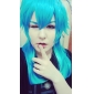 cosplay peluca inspirada en dramático asesinato Aoba segaraki azul degradado