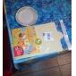 Planche à découper, plastique 38,5 × 24 × 0,1 cm (15,2 × 9,5 × 0,04 pouces) couleur aléatoire