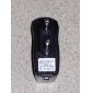 EU-kontakt USB AC DC strömförsörjning väggladdare adapter mp3 mp4 dv laddare (svart)