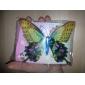 double couche décorative aimant magnétique réfrigérateur papillon (couleur aléatoire)