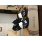Chaussures de danse(Noir Bleu Fuchsia) -Non Personnalisables-Talon Bobine-Satin-Latine Salon