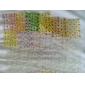 50 ark mix färg blom design 3d nail art klistermärken dekaler nail art dekoration 11812