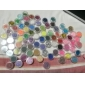 72 Colors Glitter Nail Art Decoration Combination